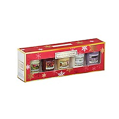 Yankee Candle - Pack of 5 everyday Christmas scented candles gift set