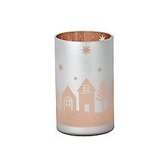 Yankee Candle - 'Village' Christmas jar candle holder