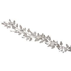 Festive - 180cm Silver garland