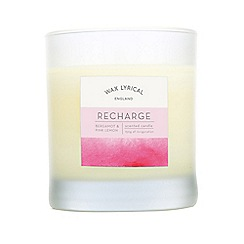 Wax Lyrical - Pink recharge spa candle