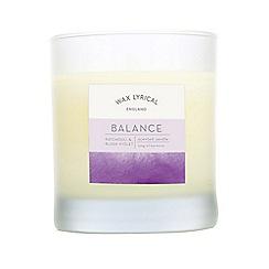 Wax Lyrical - Purple balance spa candle