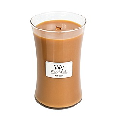 WoodWick - Large 'Hot Toddy' scented jar candle
