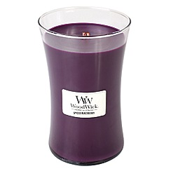 WoodWick - Spiced blackberry large jar candle