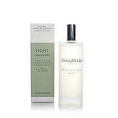 Aromaworks - Lemongrass and bergamot room spray