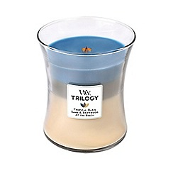WoodWick - Nautical escape trilogy medium jar