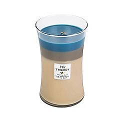 WoodWick - Nautical escape trilogy large jar