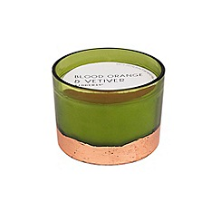 Paddywax - 'Gilt' blood orange and vetiver scented candle 13oz