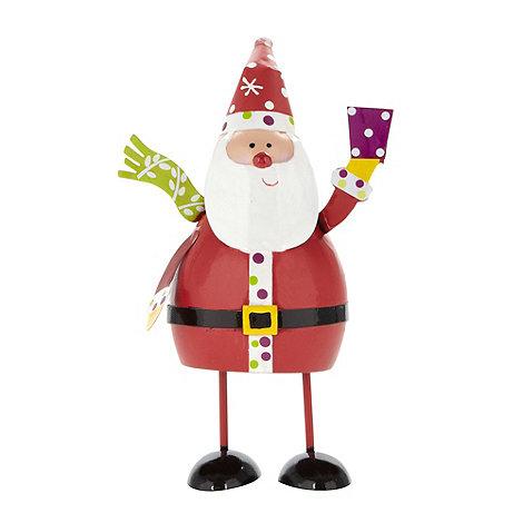 Debenhams - Small bouncing Christmas santa character