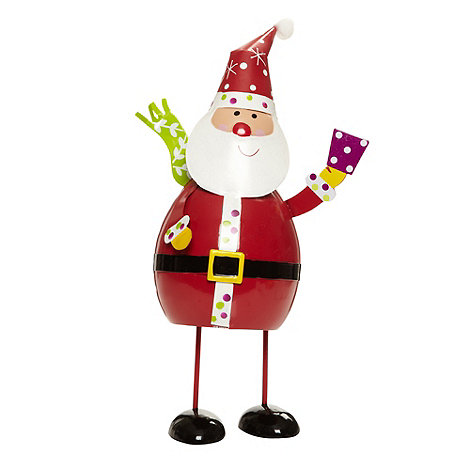 Debenhams - Medium bouncing Christmas Santa character
