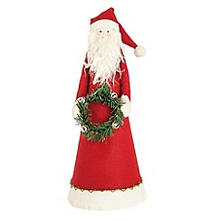 Debenhams - Red Santa Christmas tree topper