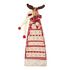 Debenhams - Christmas reindeer advent calendar