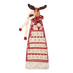 Debenhams - Christmas reindeer advent calendar