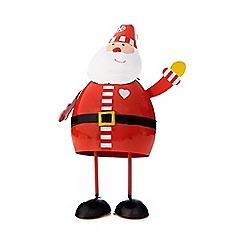 Debenhams - Small red Christmas 'Santa' bouncer