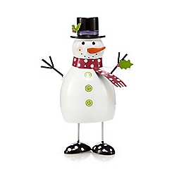 Debenhams - Large Christmas snowman bouncer