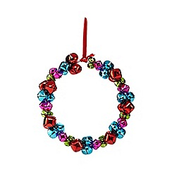 Debenhams - Christmas bell wreath