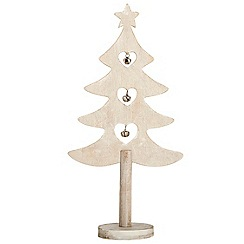 Debenhams - Wooden Christmas tree ornament