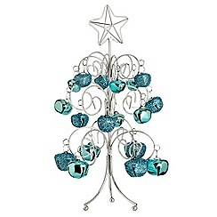 Debenhams - Blue bell Christmas tree ornament