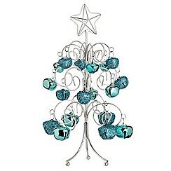 Debenhams - Blue bell Christmas tree ornament