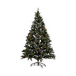 Noma - 7ft 'Killarney Fir' artificial Christmas tree