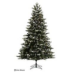 Noma - 7ft 'Nordmann Blue Spruce' artificial Christmas tree