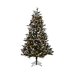 Noma - 6ft 'Scottsdale Fir' pre-lit Christmas tree