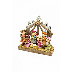 Heaven Sends - Resin nativity scene Christmas decoration