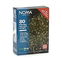 Noma - 80 LED warm white Christmas lights with timer