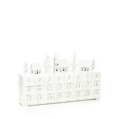 Noma - Wooden Christmas light-up advent calendar