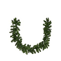 Debenhams - Green Christmas garland
