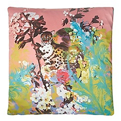 Laura Oakes - Jaguar Lair' cushion
