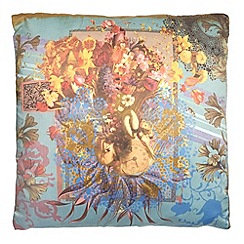 Laura Oakes - 'Swan Boat' cushion