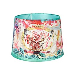 Laura Oakes - Designer green animal photo lampshade
