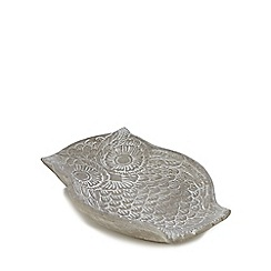 Gisela Graham - Stone carved owl dish