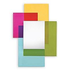 Innova - Fusion coloured glass mirror