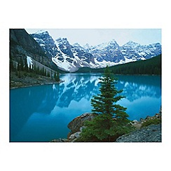 Innova - Moraine Lake Banff Alberta glass art