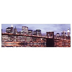 Innova - Brooklyn Bridge glass art