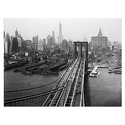 Innova - NYC Retro Brooklyn Bridge glass art