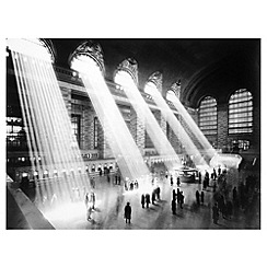Innova - NYC Retro Grand Central Station glass art