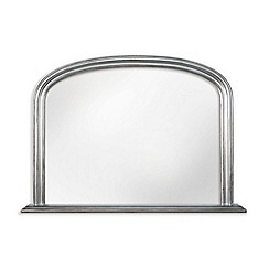Innova - Silver over mantel mirror