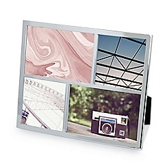 Umbra - Chrome 'Senza' multi photo frame