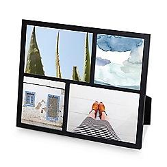 Umbra - Black 'Senza' multi photo frame