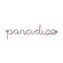 Umbra - Steel wire copper plated 'Paradise' ornament