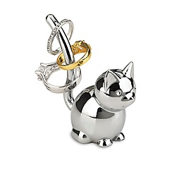 Umbra - Silver Cat ring holder