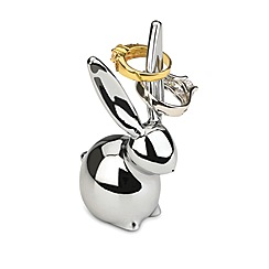 Umbra - Silver Bunny ring holder