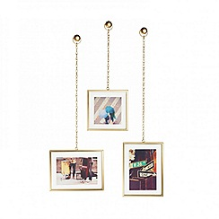 Umbra - Gold Fotochain 3-frame phot dispenser