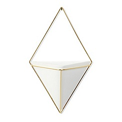 Umbra - White Trigg large wall planter
