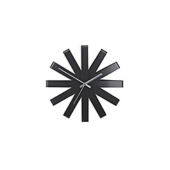 Umbra - Black Ribbon wall clock