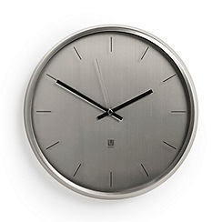 Umbra - Meta Wall Clock - nickel