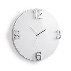 Umbra - Elapse Wall Clock - White