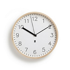 Umbra - Rimwood wall clock